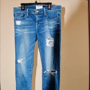 FRAME Le Garçon Jeans